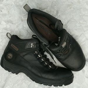 Timberland Black Leather Hiking Boot Size 9M